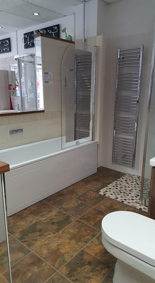Baths section