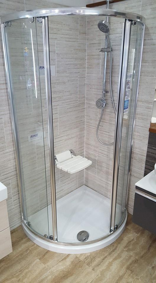 showers section